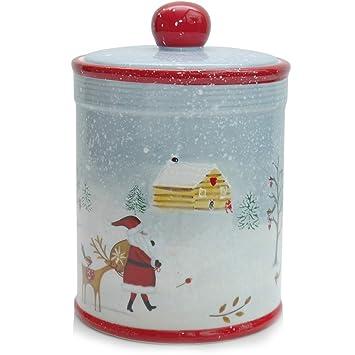 Pl/ätzchenduft Gruss und Co 49768 Pl/ätzchendose Schneegest/öber Weihnachten liegt in der Luft 240 cl H/öhe 20,5 cm