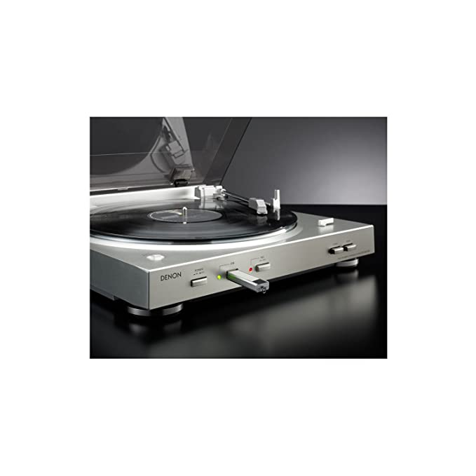 Denon DP-200 USB - Tocadiscos de Vinilo (2 velocidades, MMdB ...