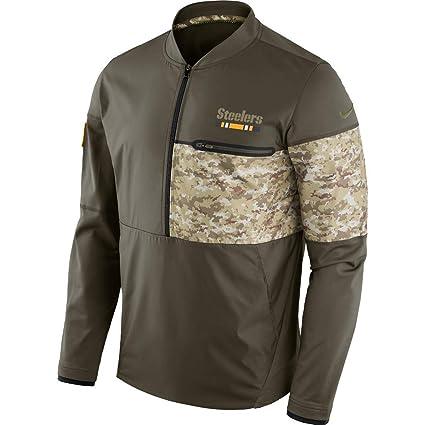bb1e80891 Pittsburgh Steelers NFL Salute to Service Sideline Hybrid Jacket - Men s  Size 3XL (XXX-