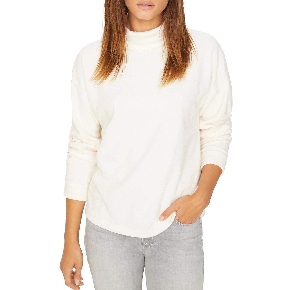 Sanctuary Womens Kyla Long Sleeves Mock Neck Pullover Sweater