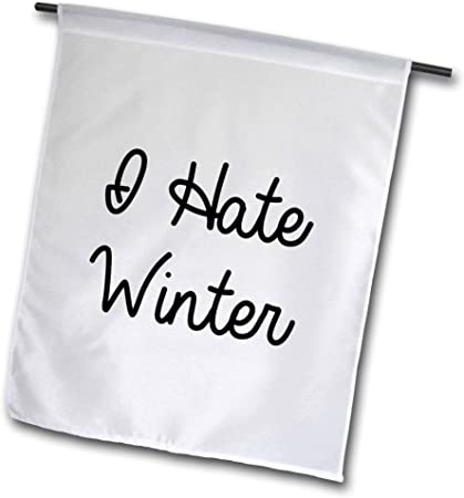 3dRose Garden Flag White