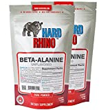 Cheap Hard Rhino Beta-Alanine Powder, 250 Grams (8.8 Oz), Unflavored, Lab-Tested, Scoop Included