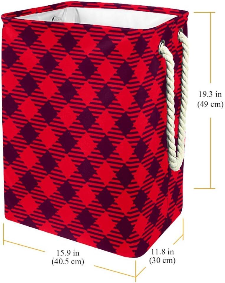 Indimization Ours Polaire Panier à Linge Rectangle en Tissu Oxford avec poignées Panier de Rangement Haute capacité 49x30x40.5 cm Color5