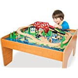 Imaginarium Train Set with Table - 55-Piece