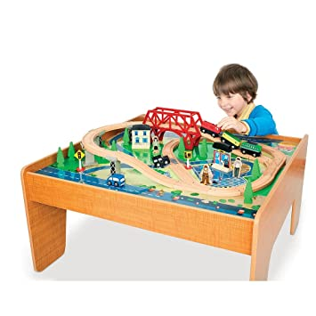Great Imaginarium Train Set With Table   55 Piece
