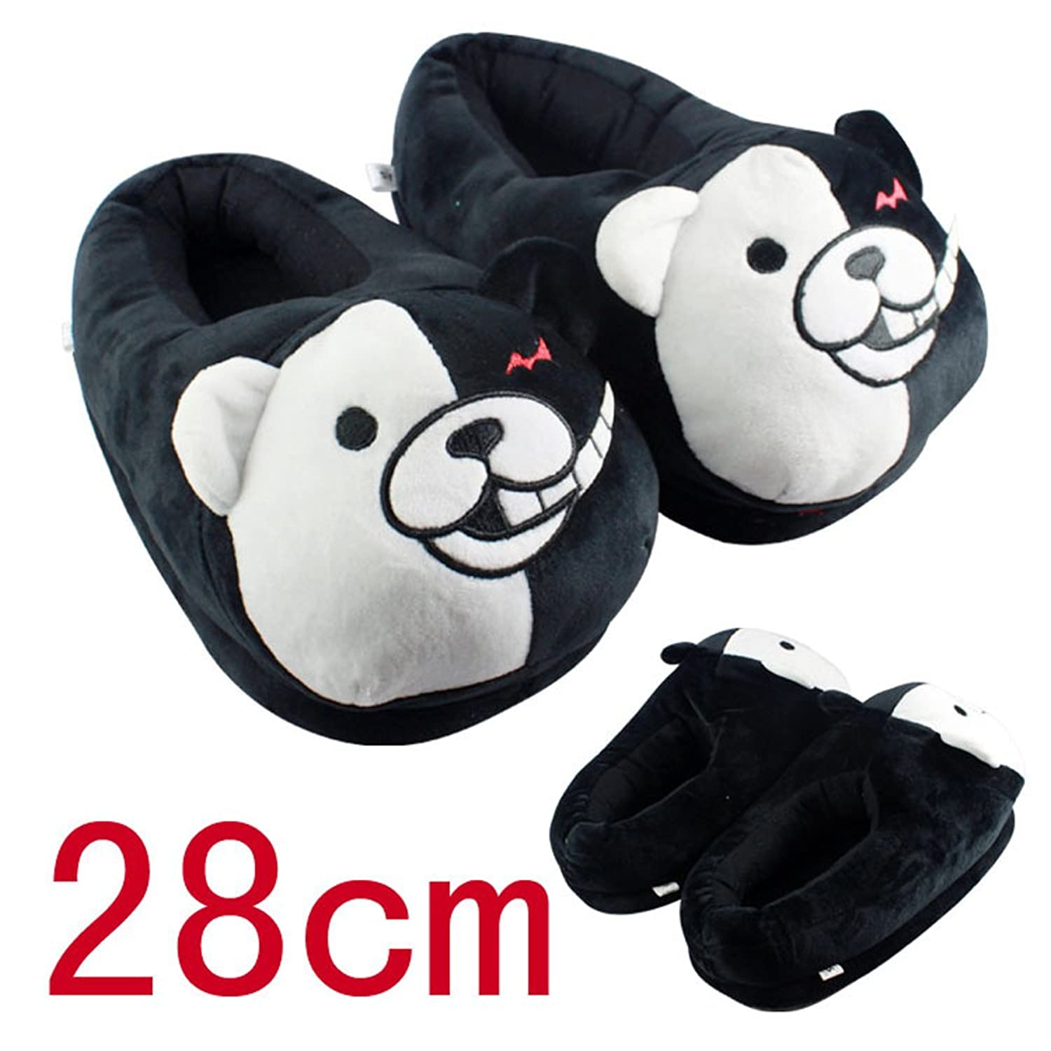"<a href=""/cdn-cgi/l/email-protection"" class=""__cf_email__"" data-cfemail=""5b1e753a1b363a29303e2f"">[email protected]</a> Trigger Happy Havoc Winter Warm Home Floor Plush Slippers"