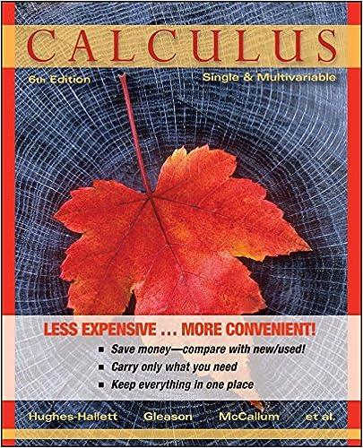HUGHES HALLETT CALCULUS PDF