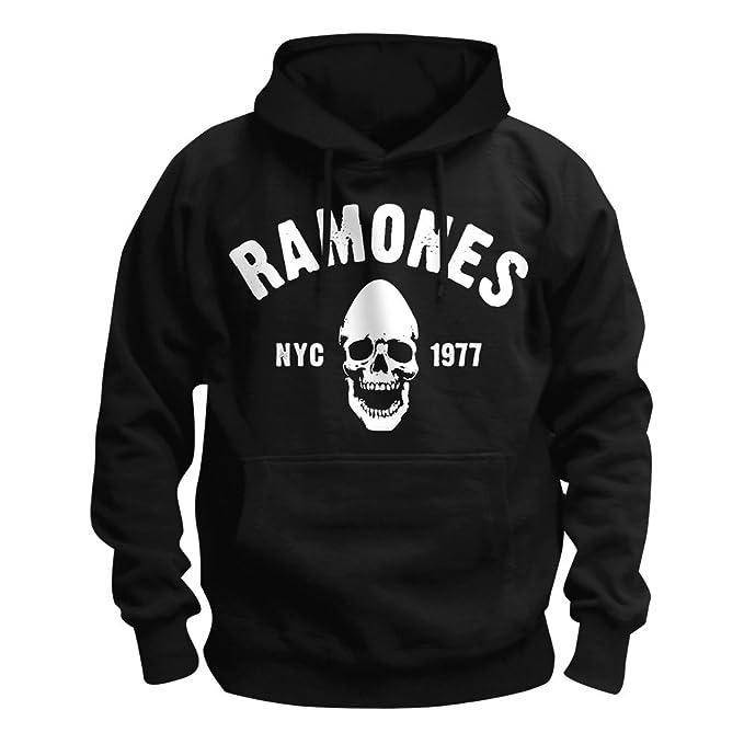 Ramones - Sudadera con Capucha - Logotipo - para Hombre: Amazon.es: Ropa y accesorios