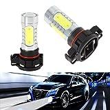 KaTur 2pcs 5202 Fog Light LED Bulbs 5201