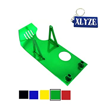 XLYZE Green Engine Protect Guard Cover Skid Plate for Honda XR50 ... c3ae311f998eb