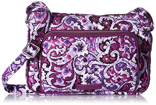 Vera Bradley Iconic RFID Little Hipster-Signature, lilac paisley