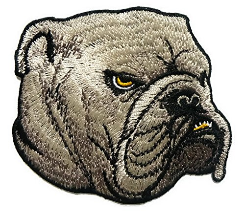 Bulldogs Iron on Patch Embroidered Sewing for T-shirt, Hat, Jean ,Jacket, Backpacks, Clothing