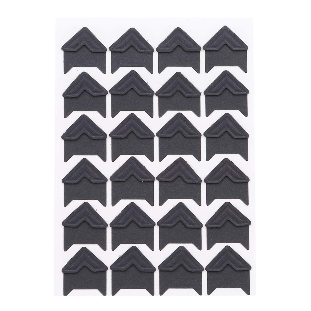 SOURBAN 24pcs Kraft Paper Photo Corner,Black by SOURBAN (Image #1)