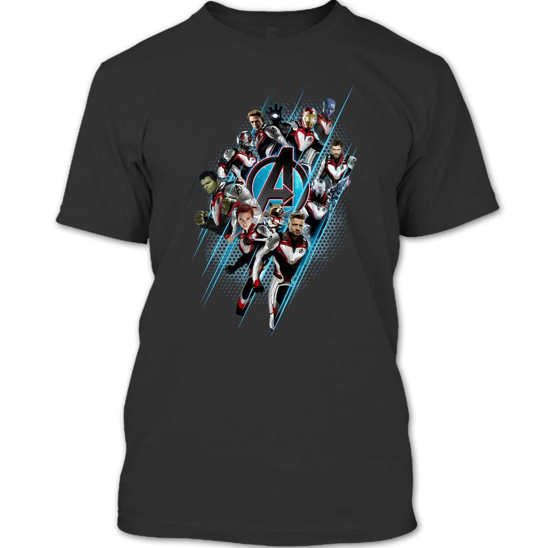 Endgame Logo T Shirt Super Heroes United T Shirt 1345