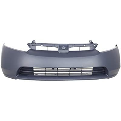 Front Bumper Cover for HONDA CIVIC 2006-2008 Primed 1.3L/1.8L Eng Sedan: Automotive
