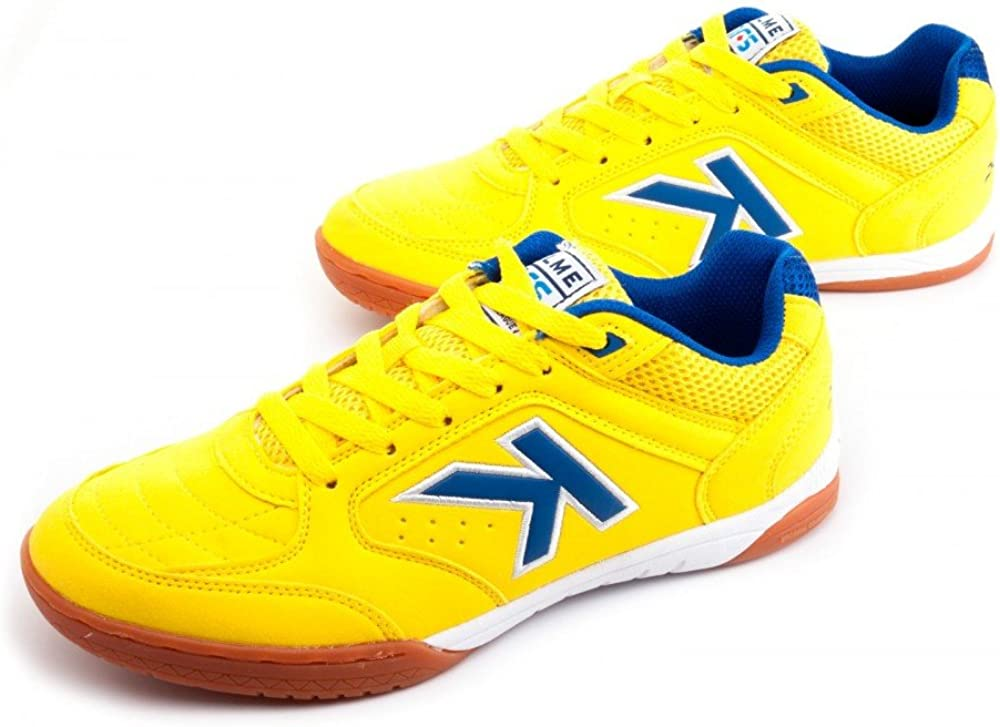 Kelme Zapatilla Precision LNFS Amarillo-Royal: Amazon.es: Zapatos ...