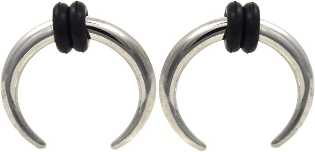 Pincher 316L Surgical Steel Ear Gauge Buffalo Taper Sold as a Pair