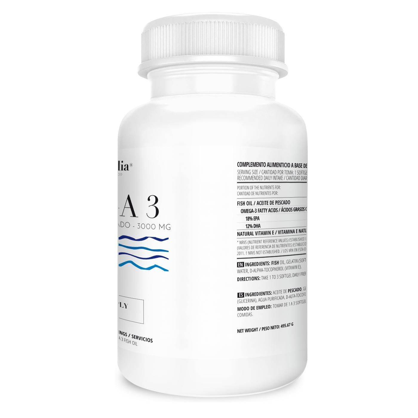 Omega 3 Aceite de Pescado | 1000mg en cada Perla - Suplementación para 1 Año | Ácidos Grasos Esenciales | Calidad de Vitaminalia: Amazon.es: Salud y cuidado ...