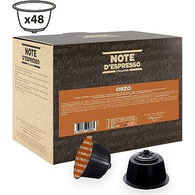 Note D'Espresso - Cápsulas de bebida de cebada Exclusivamente Compatibles con cafeteras de cápsulas Nescafé* y Dolce Gusto* 3g (caja de 48 unidades)