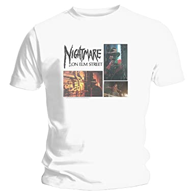 37dc15d9aec Image Unavailable. Image not available for. Colour  Men s Nightmare On Elm  St Stills T-Shirt 4881TSWPL