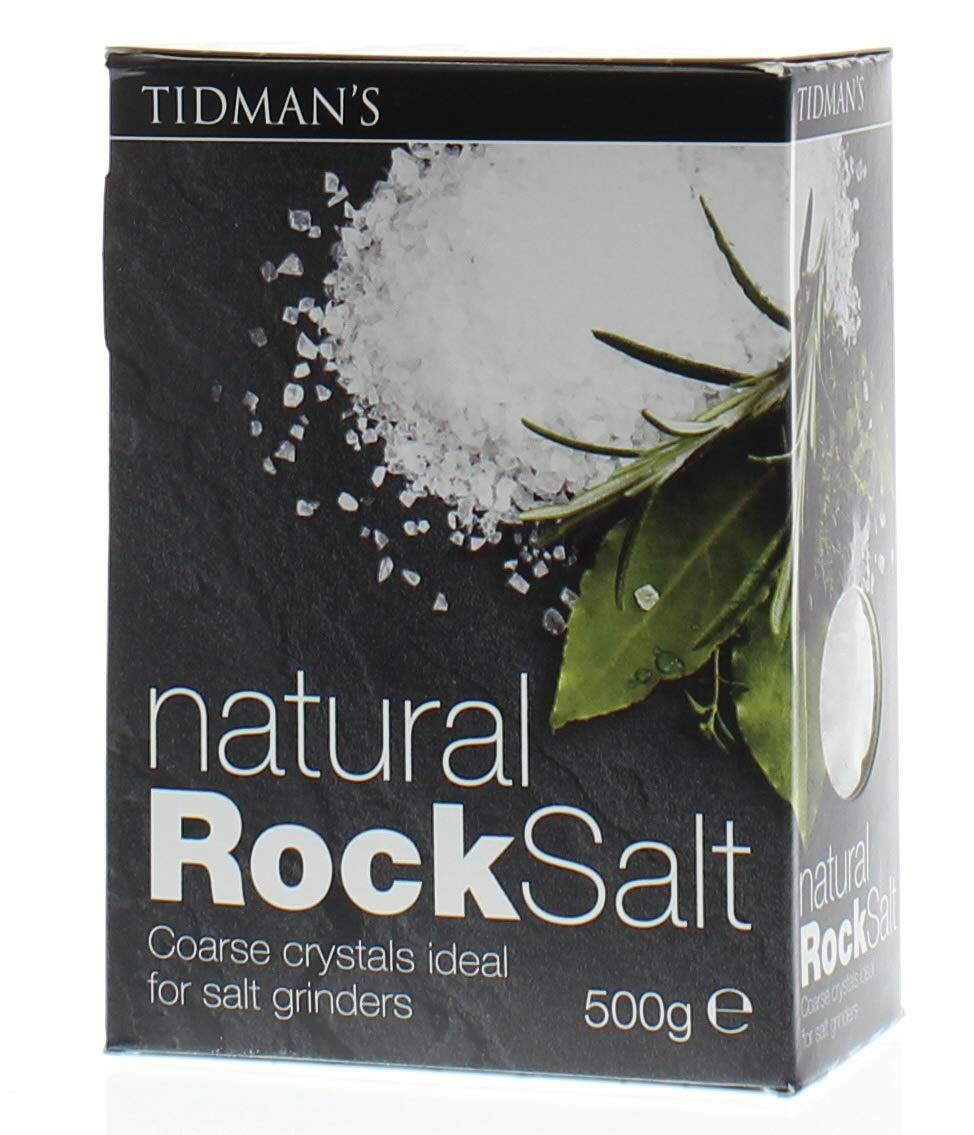 Tidmans Rock Salt 17.63oz by Tidmans
