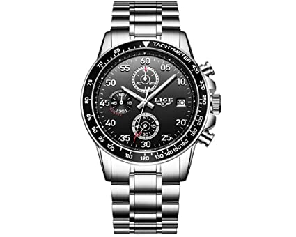 Relojes de Hombre Cronografo De Cuarzo De Moda Reloj Men para Caballeros RE0111