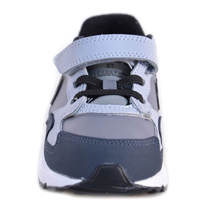 Nike Air Max ST (TDV) Scarpe Bambino Grigie Pelle 654289 - Grigio, 19.5