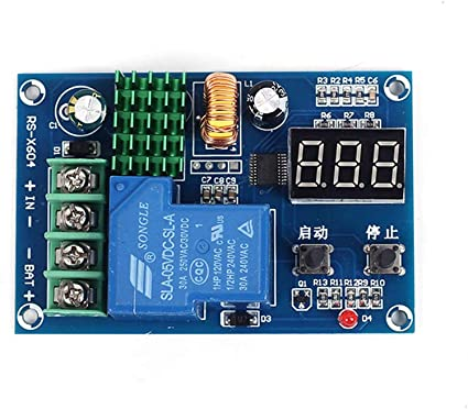 DC 6-60V Solar Battery Charger Controller Charge Discharge Protection Module