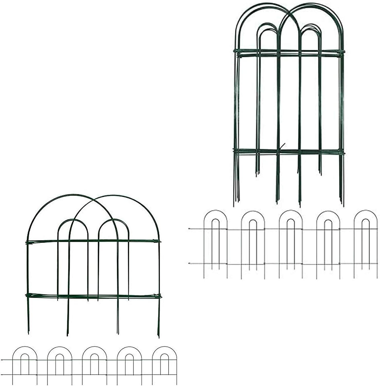 Amagabeli Decorative Garden Fence 32inx20ft Bundle 18 in x 50 ft