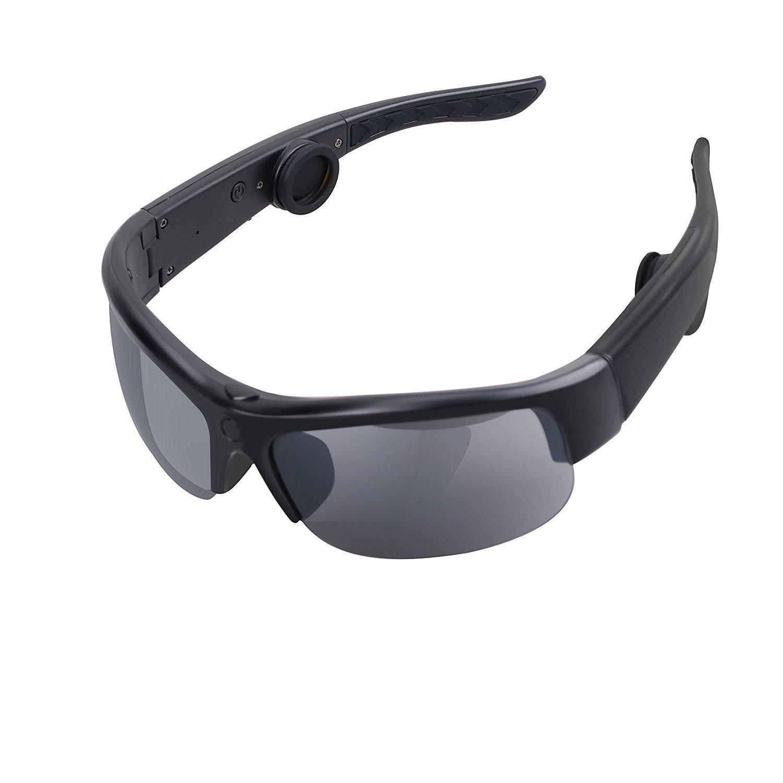 Bone Conduction Sunglasses Wireless Bluetooth Glasses Headset Headphone Sport Earphone