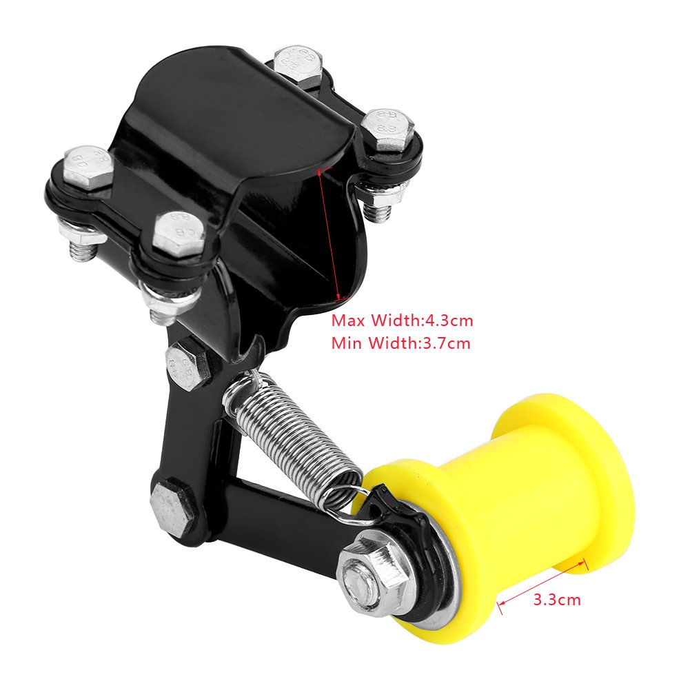red Motorcycle Link Length Modified Chain Tensioner Adjuster
