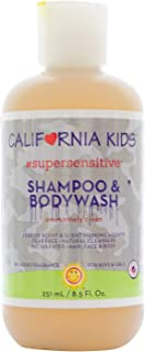 product image for California Baby Super Sensitive Shampoo and Body Wash - Hair, Face, and Body | Gentle, Fragrance Free, Allergy Tested | Dry, Sensitive Skin, 8.5 oz.