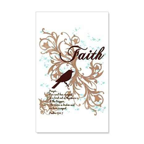 Amazon com: 20 x 12 Wall Vinyl Sticker Faith Prayer Dove