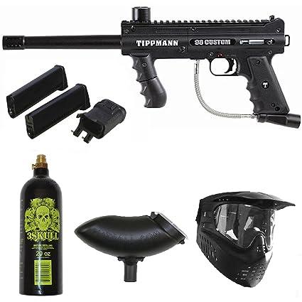 Amazon Com Tippmann 98 Custom Ps Paintball Gun W Mag Fed Adapter