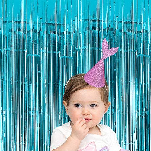 Xplanet 2 Baby Blue Mermaid Theme Foil Fringe