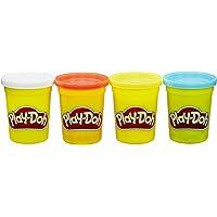 Play-Doh Pack De 4 Botes Clasicos (Hasbro B6508ES1) , color/modelo surtido