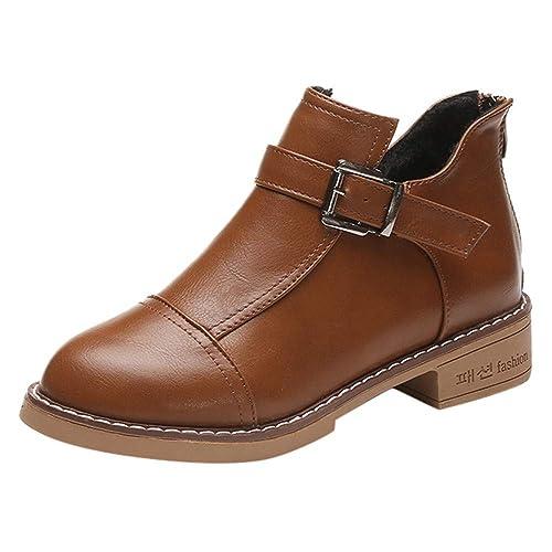 b402af09fa1cf Tige Courtes pour Femme Bottes Bottes en Caoutchouc Bottes en Caoutchouc  Etten Pluie Bottes Chelsea Boots