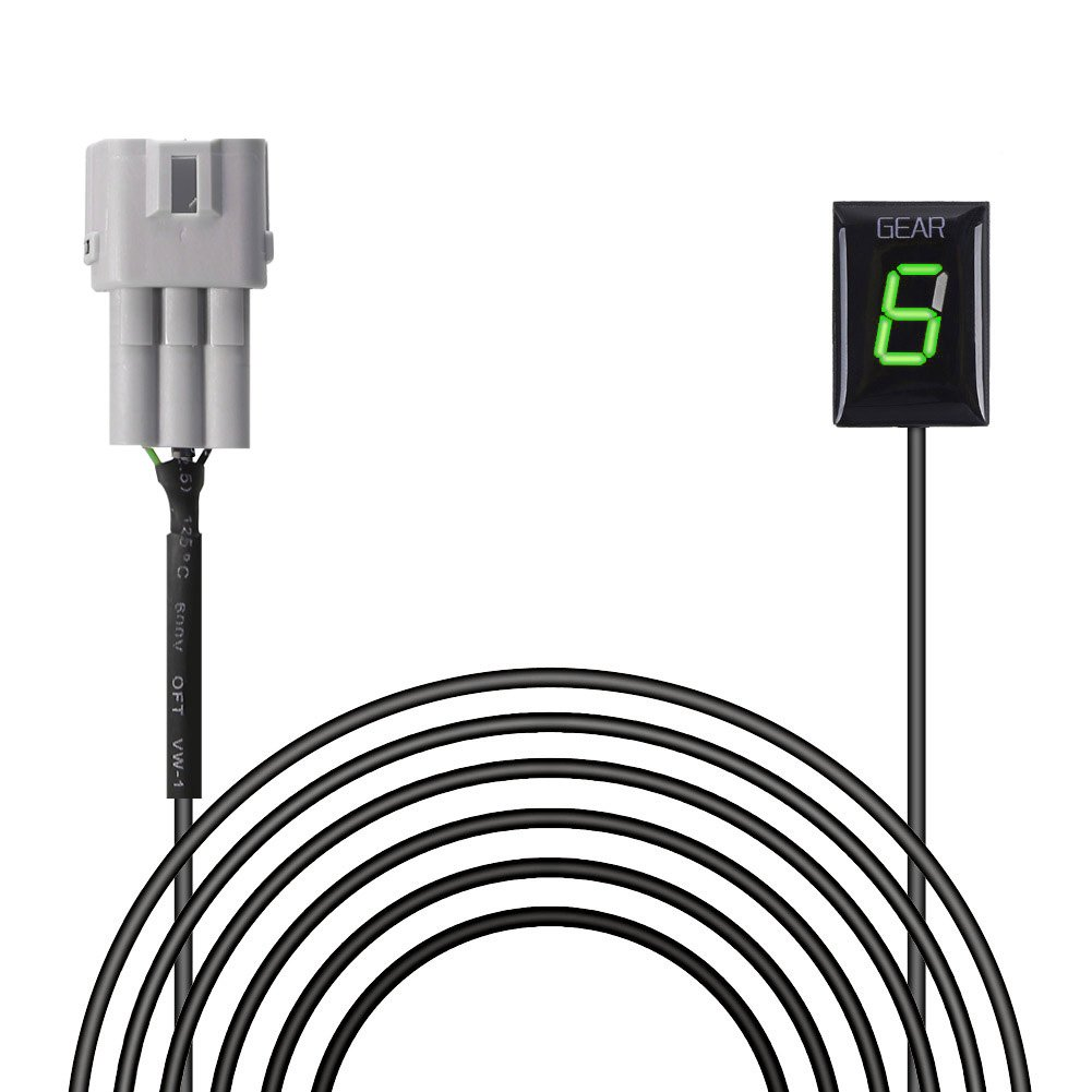 indicatore di marcia impermeabile per moto display con LED rosso IDEA plug and play