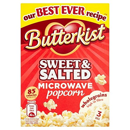 Butterkist Sweet & Salted Microwave Popcorn - 210g by Butterkist
