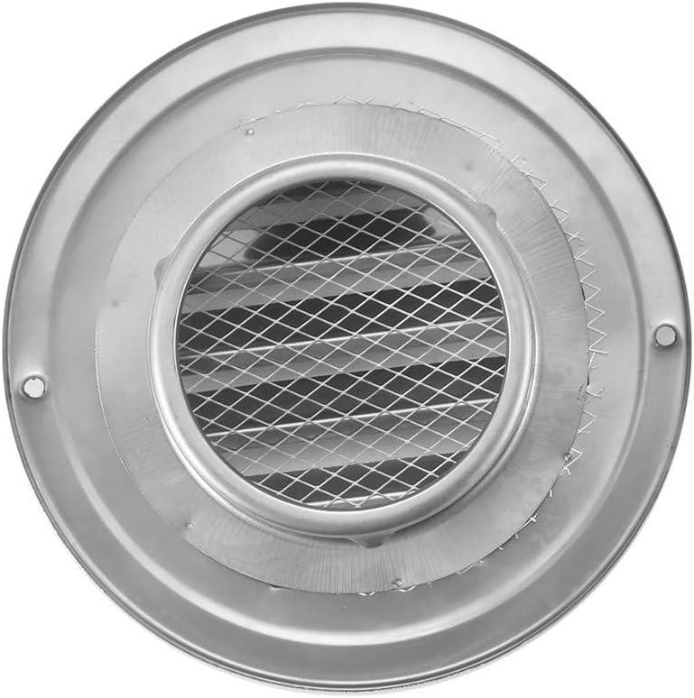 Cubiertas de escape de acero inoxidable Esfera salida de aire Rejilla de ventilaci/ón Espesar la capilla de montaje en pared para el ba/ño Vents de cocina ventilador y las rejillas 150mm