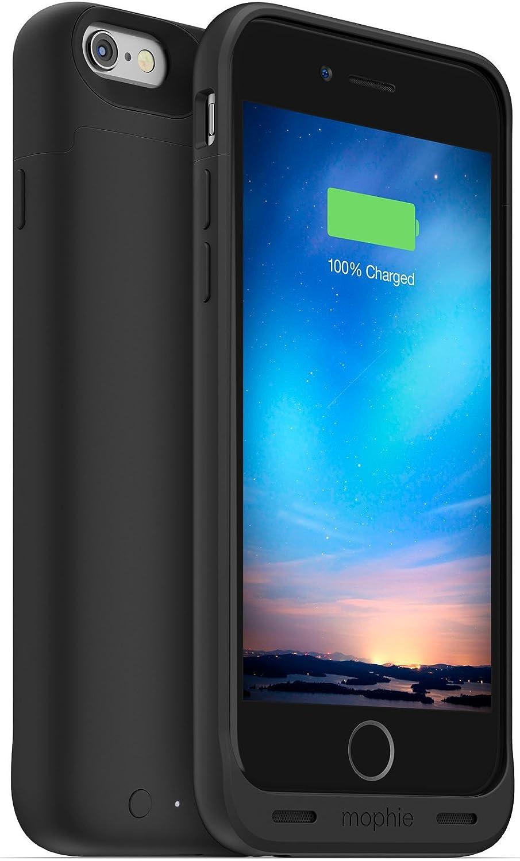 Mophie Juice Pack - Carcasa para Apple iPhone 6/6s (con batería de 1840 mAh), Color Negro: Amazon.es: Electrónica