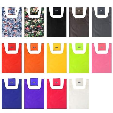 Amazon.com: Moretoes 14 bolsas reutilizables de comestibles ...