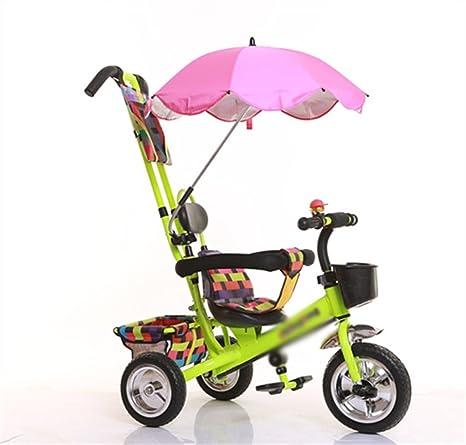 Triciclo del bebé, pedal convertible Trike empuja la bicicleta triciclo fácil del triciclo del buey
