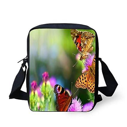 0e2583922368 Amazon.com: WEKJNskeee Beautiful Butterflies On Flowers Summer ...