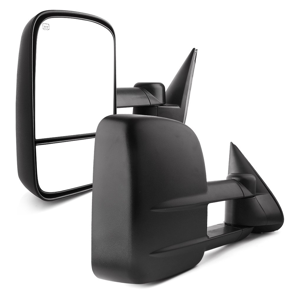 YITAMOTOR Towing Mirrors for 2003-2007 Chevy Silverado GMC Sierra Pickup Truck Pair Tow Power + Heated Side Mirrors by YITAMOTOR
