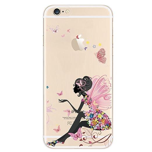 55 opinioni per Cover iPhone 5C, UCMDA Silicone Trasparente Morbida Clear Gel Custodia, Ultra