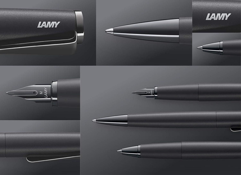 Lamy F/üllfederhalter studio 066 all black EF