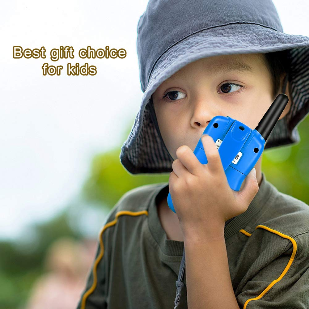 Toys for 5-12 Year Old Boys Girls, Kids Boys Girls Best Walkie Talkie Family 3 Pack Outdoor Toys for Toddlers Age 3-5 Kids 8-12 Best Birthday Gifts for Girls Boys 5-12 DMWTK1 by LET'S GO! (Image #5)