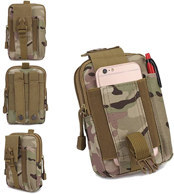 Tactical Waist Pack Belt Bag Camp Outdoor Hiking Military Molle Pouch Hip Wallet