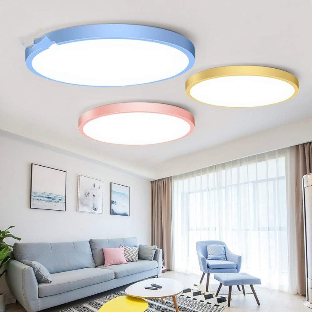 WSYYWD Lámpara de techo LED redonda 220v Lámpara LED Lámpara de ...